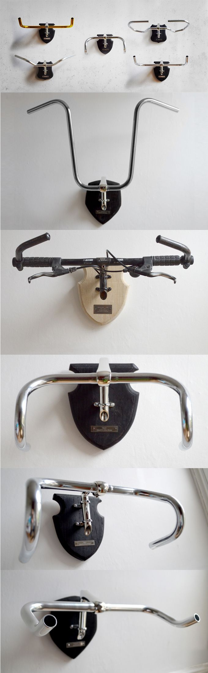 The loving and lasting solution for your mechanical bereavement! An eccentric side project born out of too many sleepless nights at the Royal College of Art and a homesickness for the rugged Highlands. Bicycle Taxidermy first began on a couple of memento mori for my father's once prized but long discarded mountain and road bikes. http://bicycletaxidermy.com