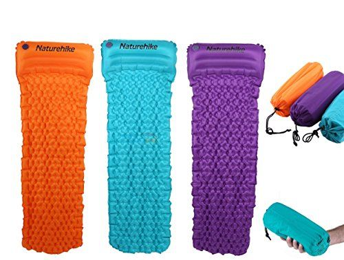 Inflatable Sleeping Mattress Airbed | Compact & Moisture-proof Camping Ultralight Air Mattress/Pad | Air bed With Attached Self-Inflating Pillow for Hiking, Backpacking, Tent by PROGRESSIVE ONLINE--32.5 Check more at https://www.uksportsoutdoors.com/product/inflatable-sleeping-mattress-airbed-compact-moisture-proof-camping-ultralight-air-mattress-pad-air-bed-with-attached-self-inflating-pillow-for-hiking-backpacking-tent-by-progressive-online/
