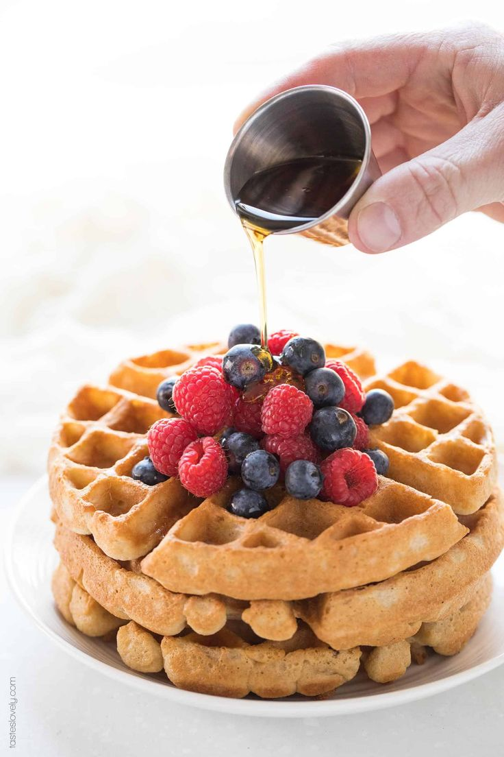 Crispy paleo waffles the most delicious and crispy