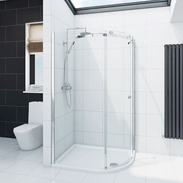 See our Infiniti 8mm single sliding door right handed quadrant shower enclosure plus many more Curved shower enclosures at VictoriaPlum.com. Plus 365 day no quibble returns. - £299