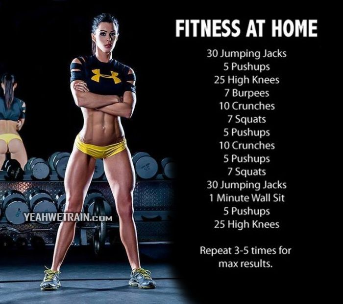 Fitness At Home - Healthy Workout Sexy Sixpack Abs Butt Crunch
