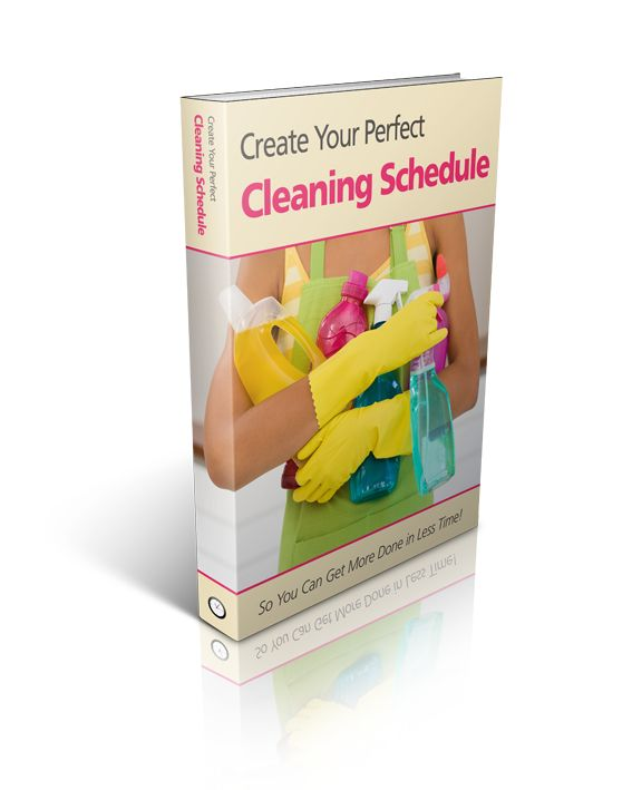 17 best ideas about cleaning schedule templates on pinterest
