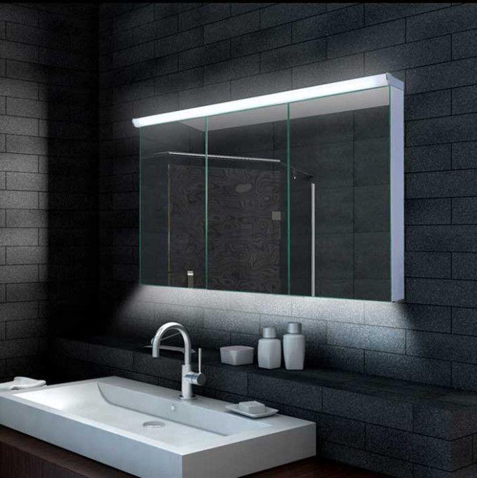 Sie Werden Diese Bizarre Wahrheit Hinter Spiegelschrank Badezimmer Design Nie Glauben Badezimmer Ideen Bathroom Mirror Furniture Lighted Bathroom Mirror