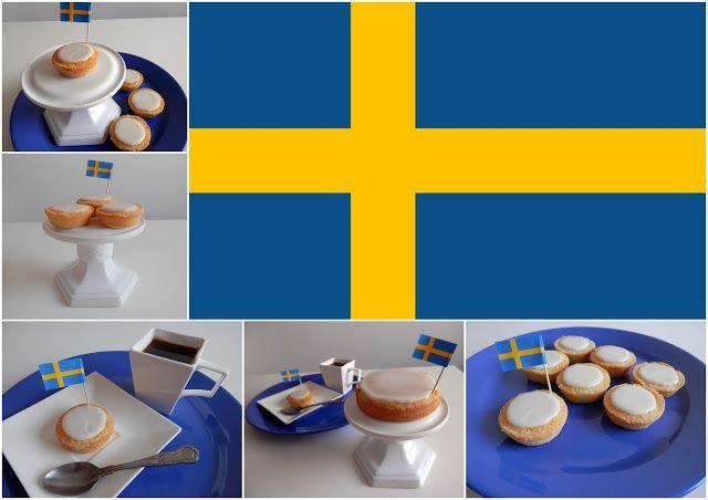 Mazariner - Swedish almond pies - Švédské mandlové koláčky
