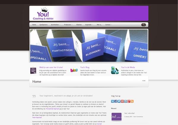 Pin de look van je website:   http://www.you-coaching.nl via @url2pin