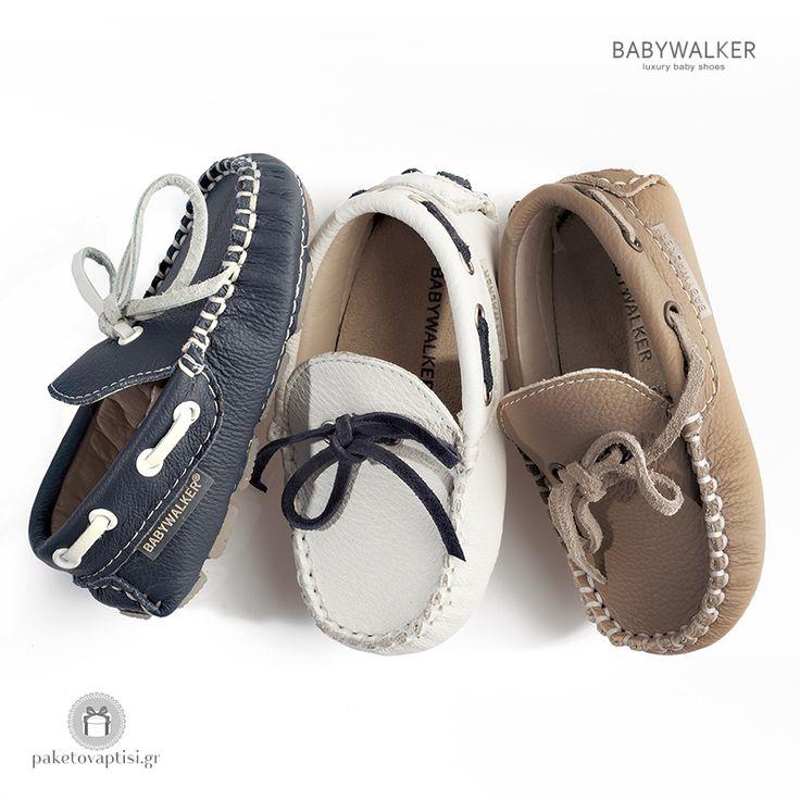 Καλοκαιρινά Δίχρωμα Loafers για Αγόρια Babywalker ΒW4016