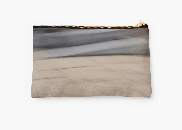 Abstract Wave Studio Pouches by Galerie 503