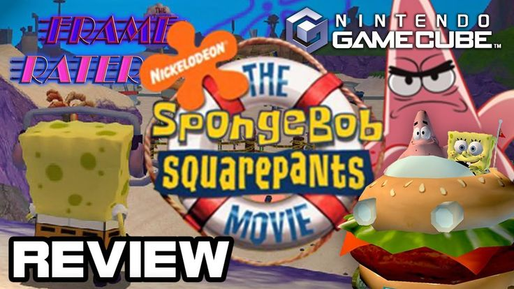 SpongeBob SquarePants Film for GameCube Overview: FrameRater