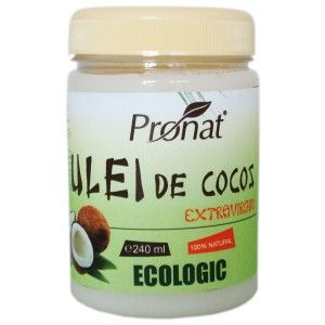 Ulei de cocos ecologic extravirgin, 240 ml