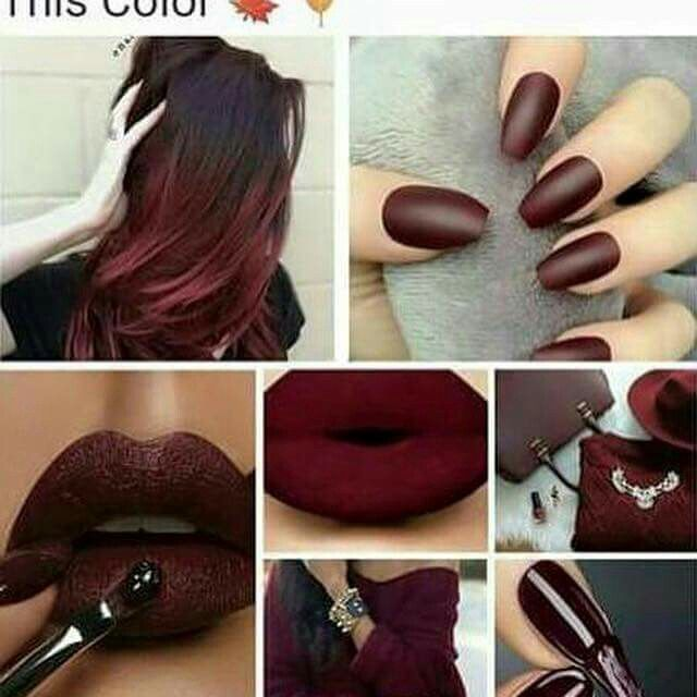 Ox blood red ♡                                                                                                                                                     More