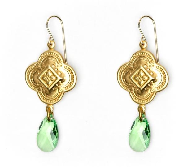 Sophie Kyron - El Dorado earrings