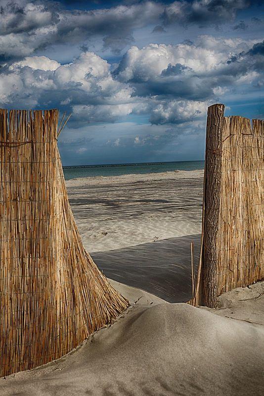 ~~i sea what you sea... • beach passageway, Constanta, Romania • by Elisa Ursalas~~