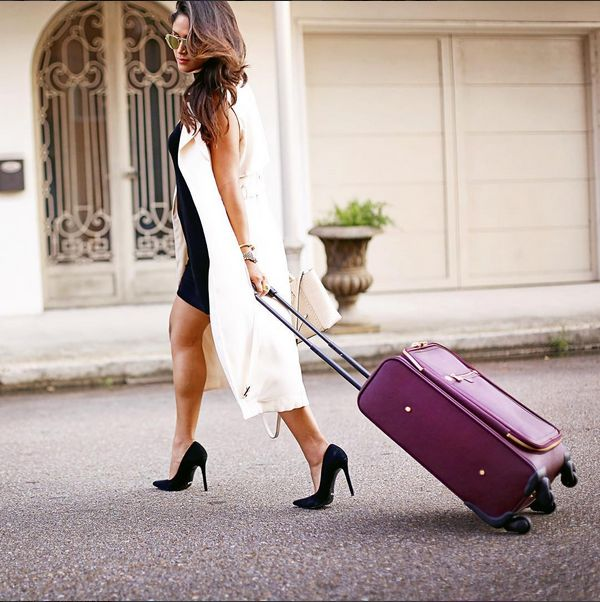 Wish we were jetsetting away with Jennifer of Haute Off The Rack.