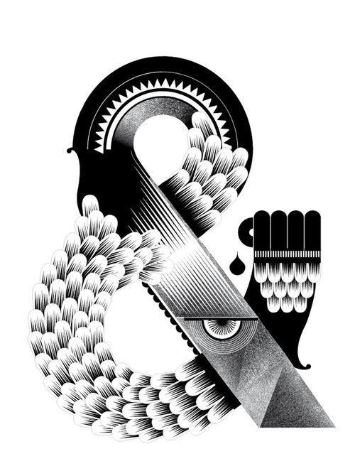 Typographie 10 : Un caractère créatif ! | Blog du Webdesign #ampersand #typography