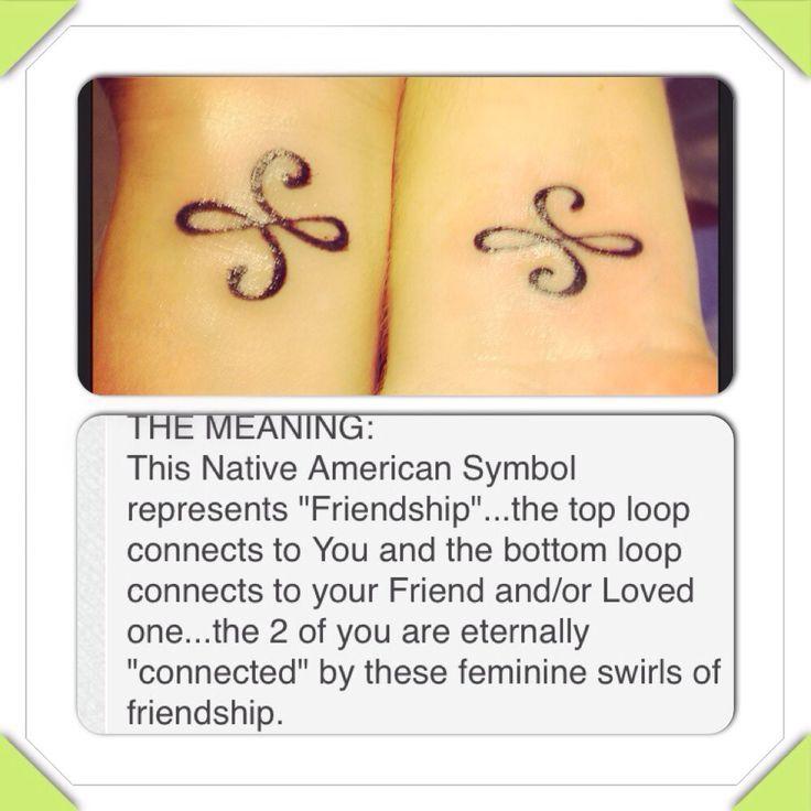 Best Friend Tattoos - My best friend & I with matching tattoos...