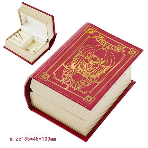 40%off only November~ ~ ~ Japan Comic amine Cardcaptor Sakura Clow Cards Magic Book Stick necklace bracelet ring jewelry box