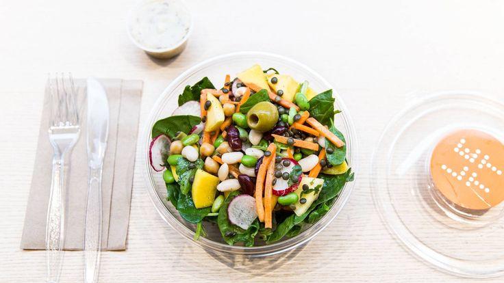 Lett og lettvint lunsj på Lett. Bra alternativ til hamburgerkjedene. #lunsguiden #smak
