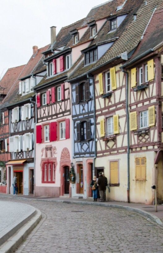 """This marvelous streetview is from our feature """"Christmas in Colmar"""""""