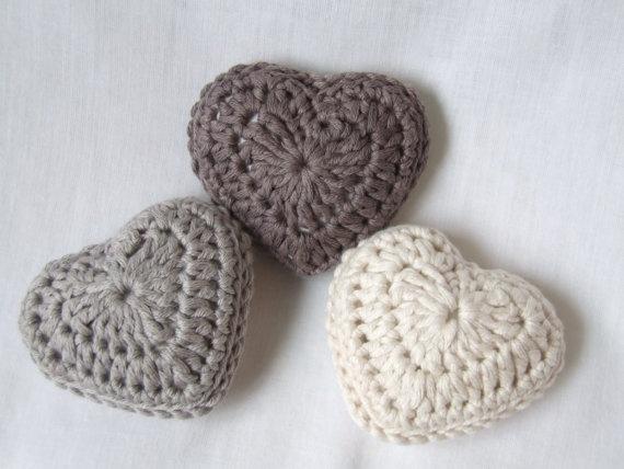 Aprende ha tejer corazones a crochet para principiantes b4b7ae47cd0
