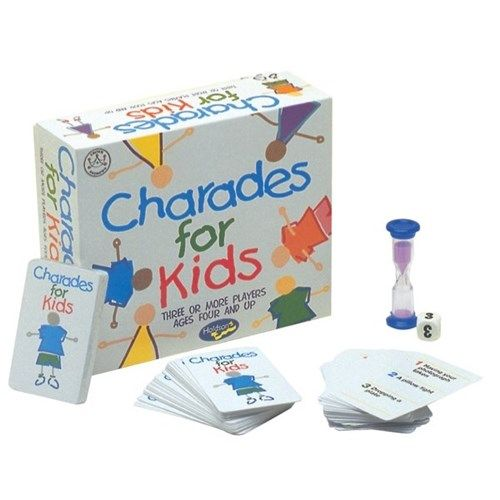 charades for kids board games