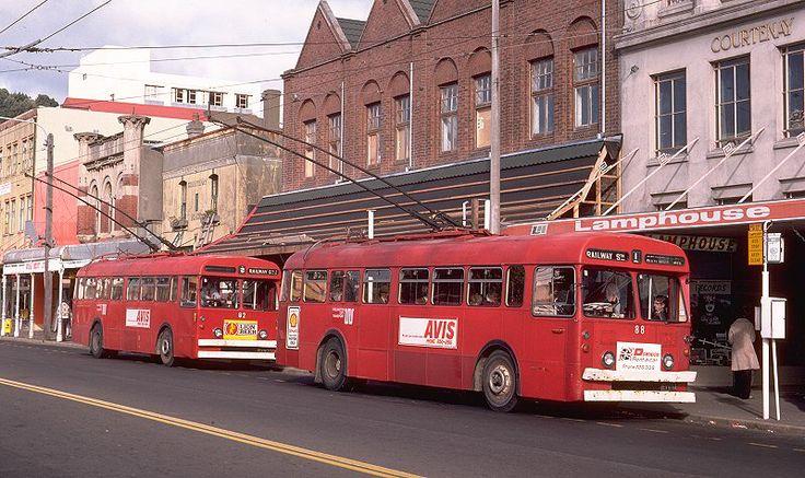Wellington Trolleybuses