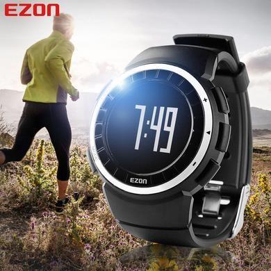 Monitor de Calorias Pedômetro Relógios Desportivos Relógio Running Caminhadas