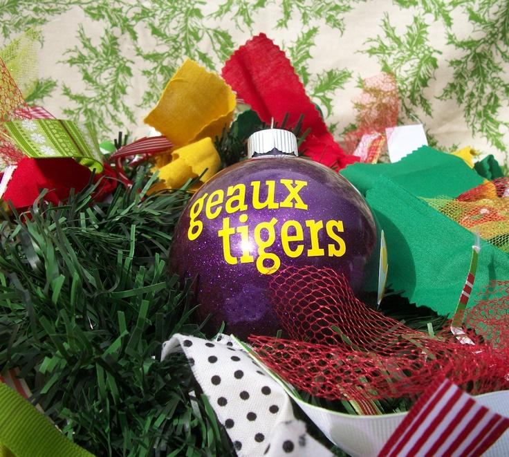 42 best LSU Christmas Ideas images on Pinterest   Christmas ideas ...