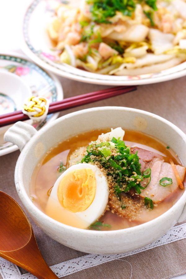 極旨味噌ラーメンみたいなキャベツスープ by 小春ちゃん | レシピ ...