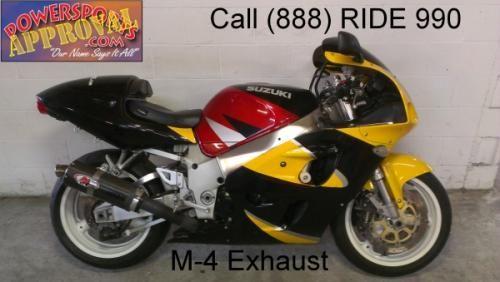 1998 used Suzuki GSXR600 crotch rocket for sale-u1713
