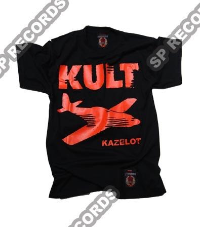 """Koszulka KULT - Kazelot czarna  Czarna koszulka z motywami okładki singla Kult - """"Kazelot"""".    !!EDYCJA LIMITOWANA!! Każda koszulka posiada swój indywidualny numer seryjny.    Sklep: http://www.sprecords.pl/muzyka/kult/koszulka-kult-kazelot-czarna_p_228.html"""