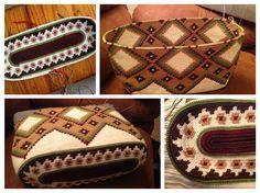 Tapestry crochet bag