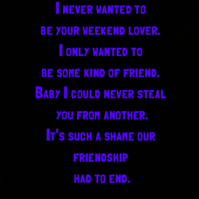 Prince - Purple Rain lyrics