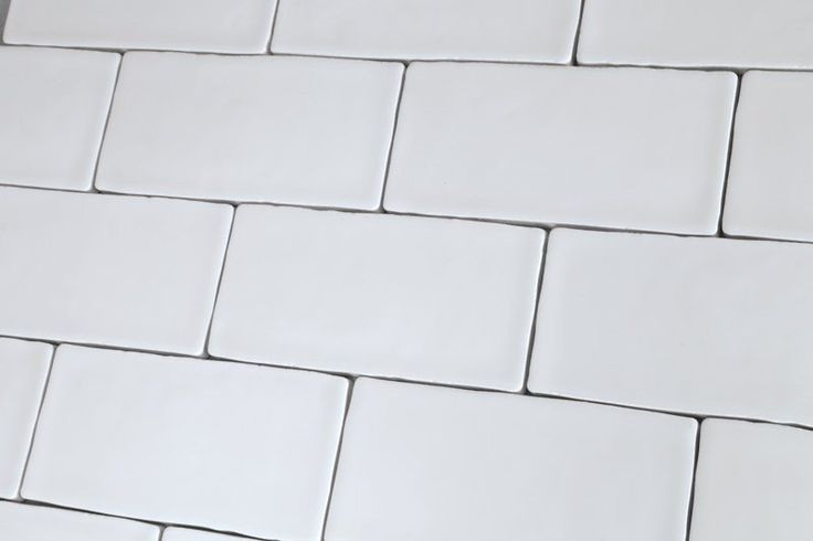 Artisan White Wall Tiles 7.5x15cm - Tons of Tiles