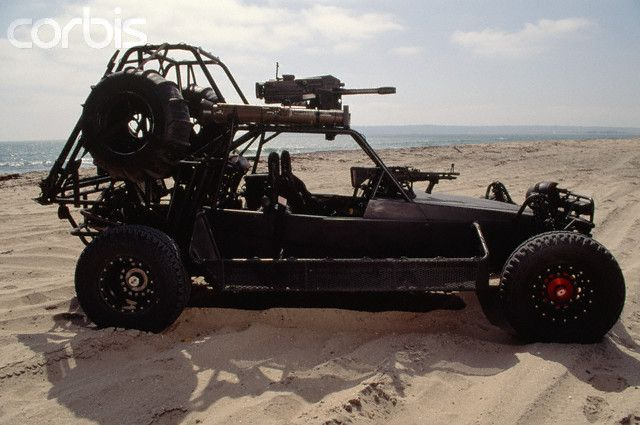 The Desert Patrol Vehicle (DPV), formerly called the Fast Attack Vehicle (FAV), is a high-speed, lightly armored sandrail-like vehicle first used in combat during the Gulf War in 1991. Due to their dash speed and off-road mobility, the DPVs were used extensively during Operation Desert Storm.