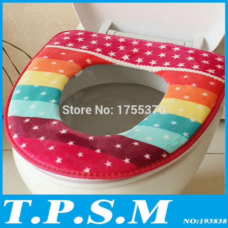 Winter Toilet Seat Warmer Coral fleece Thicken Carpet Toilet Seat Cover Soft Comfortable Potty Seat Overcoat Bath Set