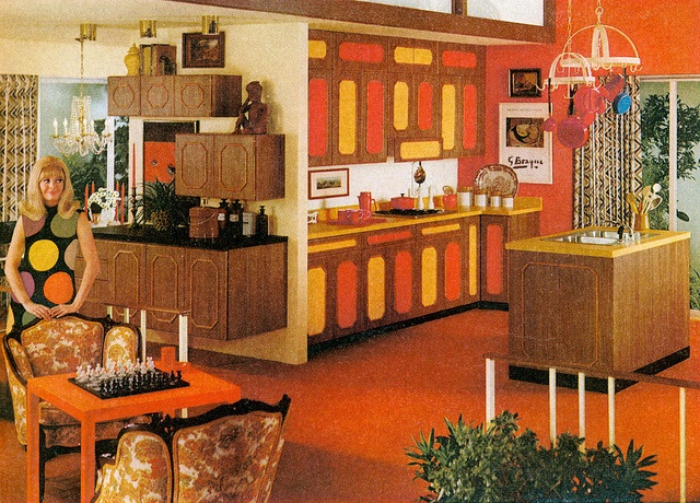 17 best images about retro on pinterest mid century for 1960s decoration