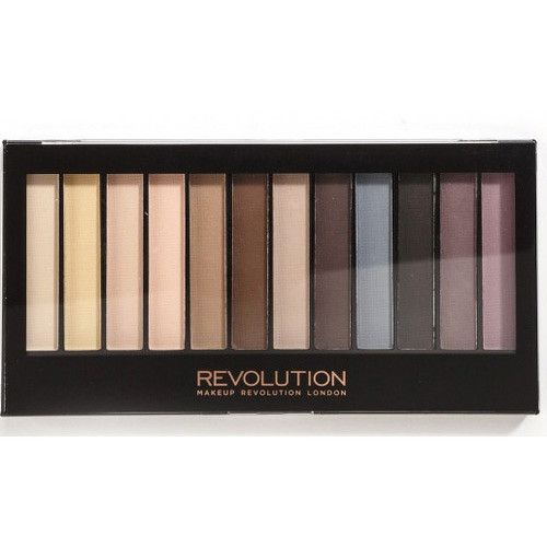 Makeup Revolution Paletka matných očných tieňov Redemption Essential Mattes