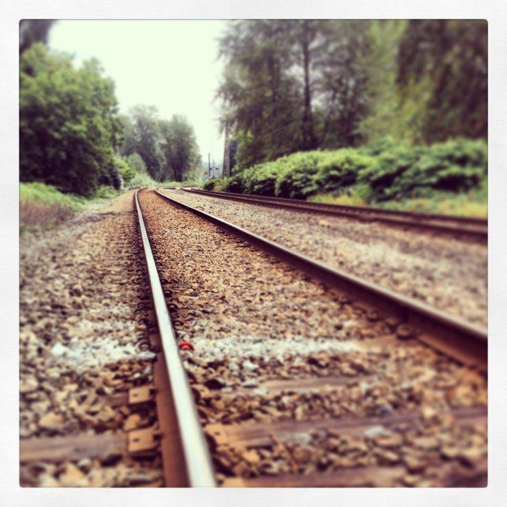 Langley train tracks