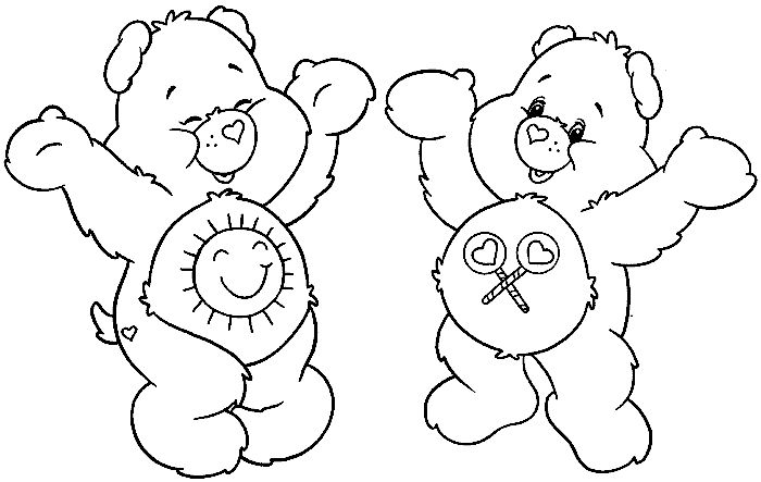 funshine cear coloring pages - photo#30