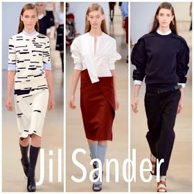 Becoming RAJE: Milan Fashion Week SS15: The Low Down. Jil Sander, the epitome of minimalism. A x