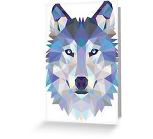 Game Of Thrones Polygonal Dire Wolf   RedBubble Greeting Card Available @redbubble