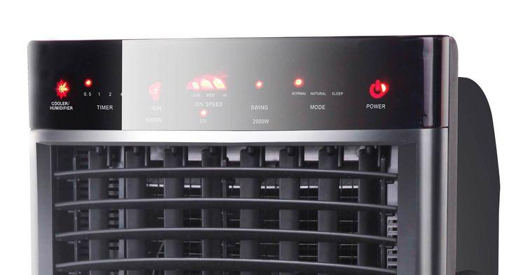 Un appareil multifonction révolutionnaire, pour répondre à vos besoins en toute saison; ventilateur, rafraîchisseur d'air, humidificateur, chauffage, purificateur d'air, diffuseur d'arômes.