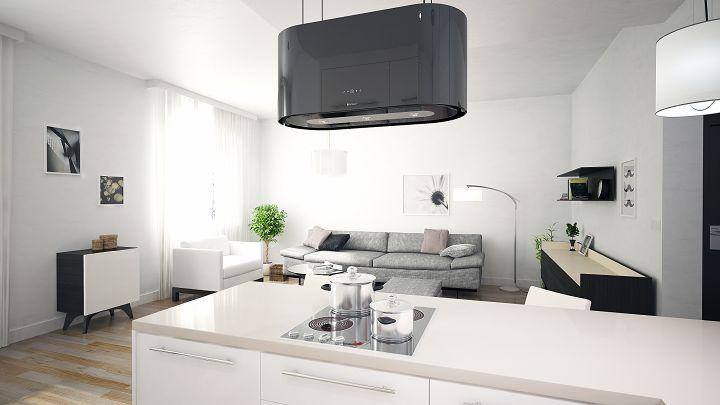 Design od kuchni - aranżacja kuchni otwartej na salon // Idea Domu