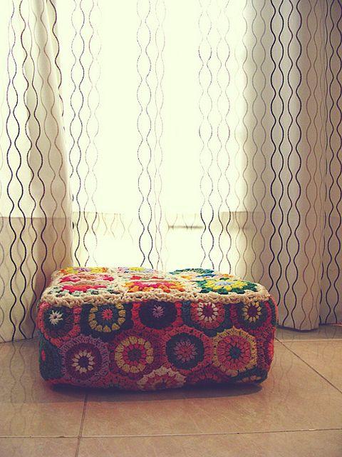 crochet foot stander by amona_1001, via Flickr