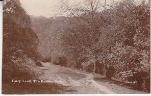 Burgess & Co Postcard - Fairy Land, The Downs, Bristol - 10010-105