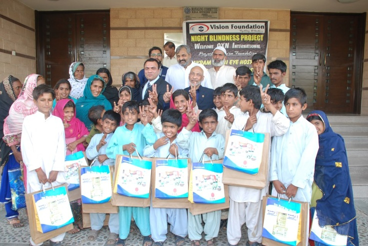 Miracle Happens:  30 children in Pakistan who were affected with night blindness have got their vision back completely (certified by Drs) using DXN Spirulina and Ganoderma .. Another 100 children are on trial with same products.