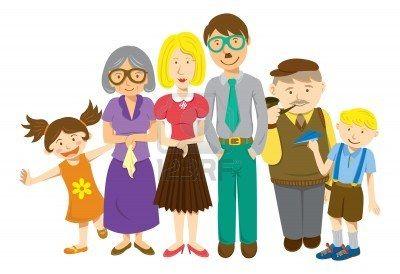 Familie: illustratie