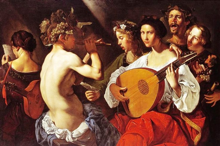 View Bacchic Concert c. 1625-1630 by Pietro Paolini 1603 - 1681