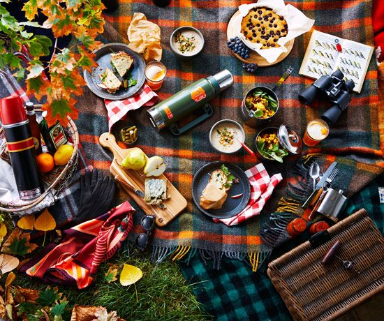 This is our dream picnic spread! | The Marion House Book #fall #decor #inspiration