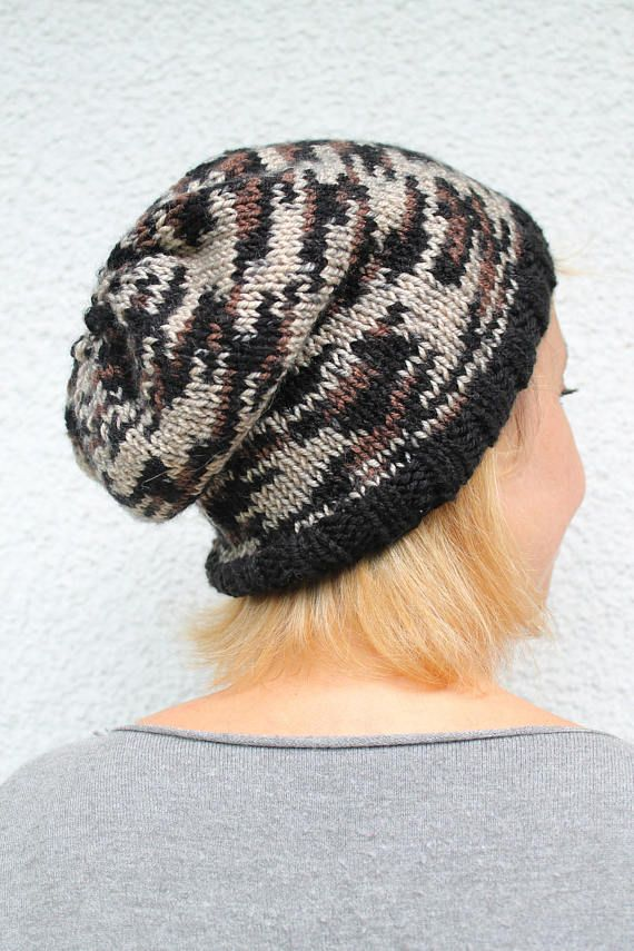 Animal Print Hat Beanie Hat for adults Knit Hat Women Hand
